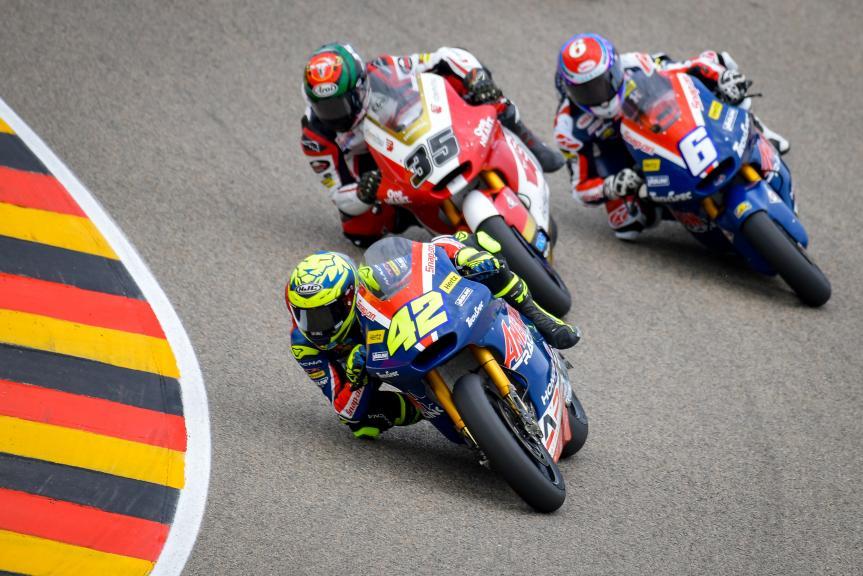 Marcos Ramirez, American Racing, Liqui Moly Motorrad Grand Prix Deutschland
