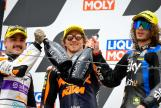 Aron Canet, Marco Bezzecchi, Remy Gardner, Liqui Moly Motorrad Grand Prix Deutschland