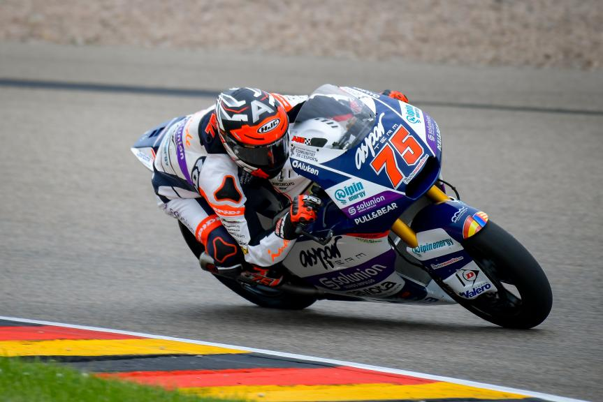 Albert Arenas, Inde Aspar Team, Liqui Moly Motorrad Grand Prix Deutschland