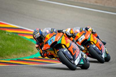 Moto2™ : Bezzecchi et R. Fernández unis contre Gardner