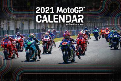 Calendario provisional de MotoGP ™ 2021 actualizado
