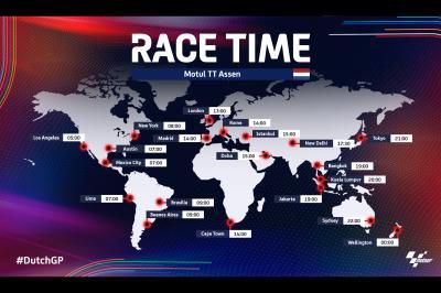 Todos los horarios del TT Motul de Assen: Vuelve MotoE™