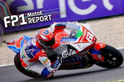 Zaccone lidera el estreno eléctrico en el TT