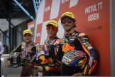 Raul Fernandez, Sam Lowes, Remy Gardner, Motul TT Assen