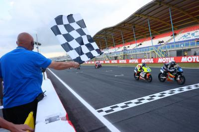 Luciano back on top after a battle for the ages at Assen