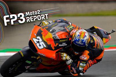 Moto2™ - Assen : R. Fernández riposte en FP3 !