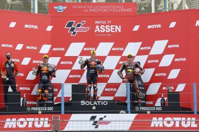 Moto2™ - GP des Pays-Bas : Les premiers mots du Top 3