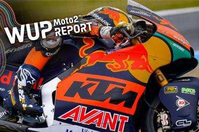 Moto2™ - Assen : R. Fernández récidive au warm-up