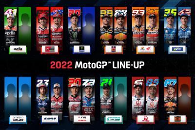 Calendrier Grand Prix Moto 2022 La composition de la grille 2022 en MotoGP™   MotoGP™