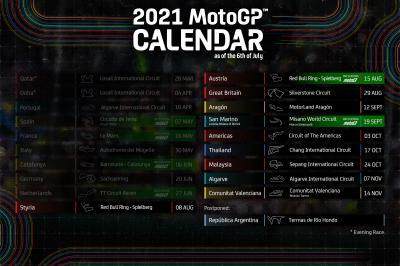 Calendrier 2022 Motogp Des ajustements au calendrier en fin de saison ! | MotoGP™