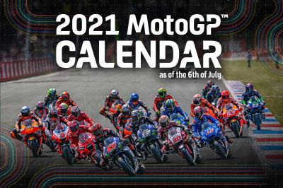 2021 MotoGP™ provisional calendar updated