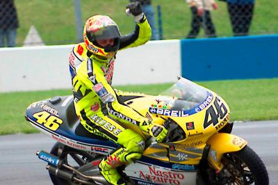 On This Day: Rossi's Donington delight with debut victory
