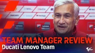 Team Manager's Half Season Review: Ducati Lenovo Team