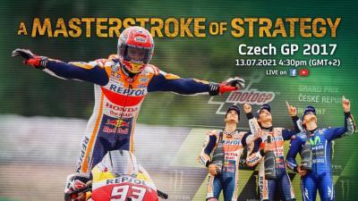 Rivivi il GP della Repubblica Ceca del 2017