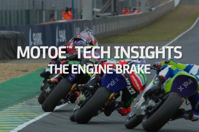 MotoE™ Tech: How does engine braking work on a MotoE™ bike?