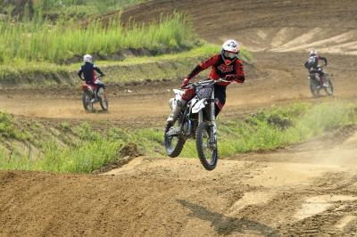 Miller and friends back in action at Motocross Dorno