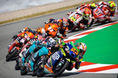 Moto2™ and Moto3™'s latest regulation changes
