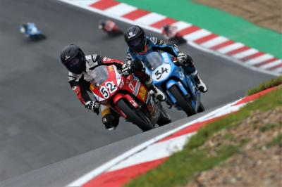 Full throttle! Honda British Talent Cup heads for Thruxton