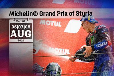 Tutti gli orari del Michelin® Grand Prix of Styria