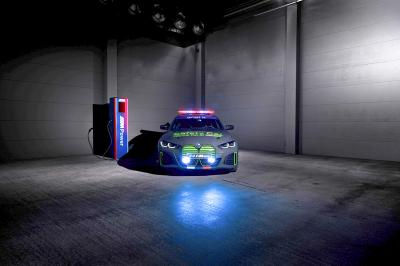 BMW M presents the new BMW i4 M50 Safety Car for MotoE™