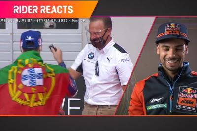 RIDER REACTS: Oliveira and his last-gasp Spielberg epic