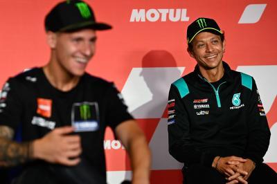 Valentino Rossi terrà una conferenza stampa alle 16:15