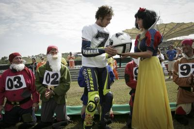 10 of the best images from Valentino Rossi