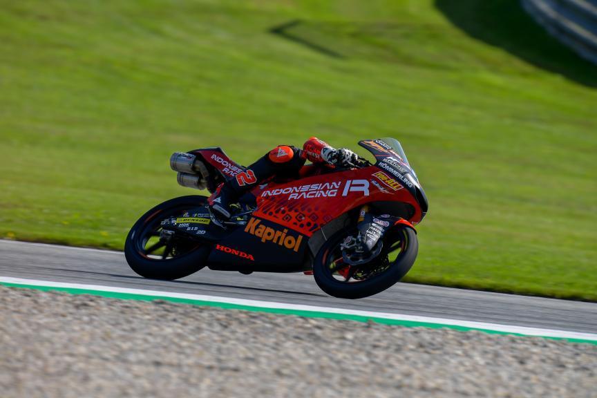 Gabriel Rodrigo, Indonesian Gresini Racing Moto3, Michelin® Grand Prix of Styria
