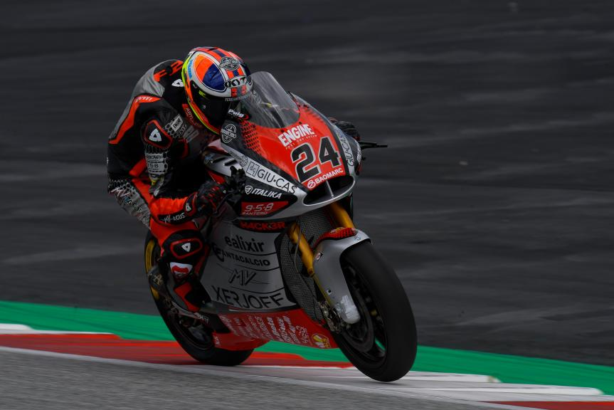 Simone Corsi, MV Agusta Forward Racing, Michelin® Grand Prix of Styria