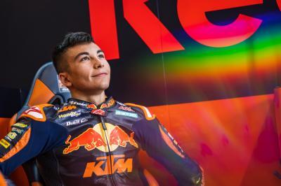 Raúl Fernández completa el equipo Tech3 de MotoGP™ para 2022