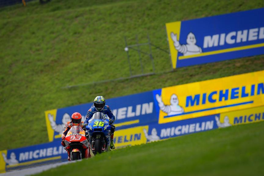 Joan Mir, Marc Marquez, Michelin® Grand Prix of Styria