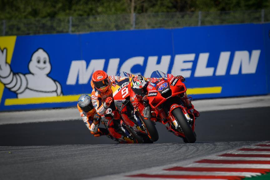 Jack Miller, Marc Marquez, Pol Espargaro, Michelin® Grand Prix of Styria