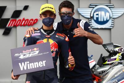 Daniel Muñoz remporte son premier succès en Red Bull Rookies