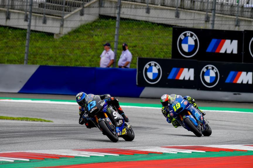 Celestino Vietti, Lorenzo Dalla Porta, Michelin® Grand Prix of Styria
