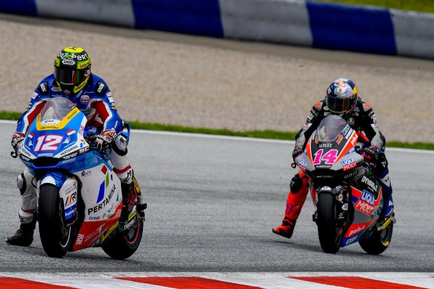 Thomas Luthi, Tony Arbolino, Michelin® Grand Prix of Styria