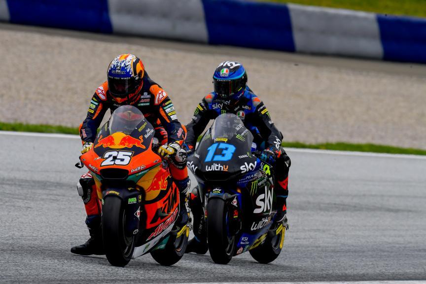 Raul Fernandez, Celestino Vietti, Michelin® Grand Prix of Styria