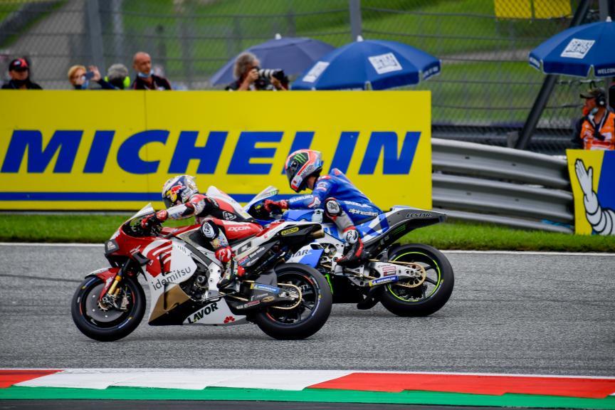 Takaaki Nakagami, Alex Rins, Michelin® Grand Prix of Styria