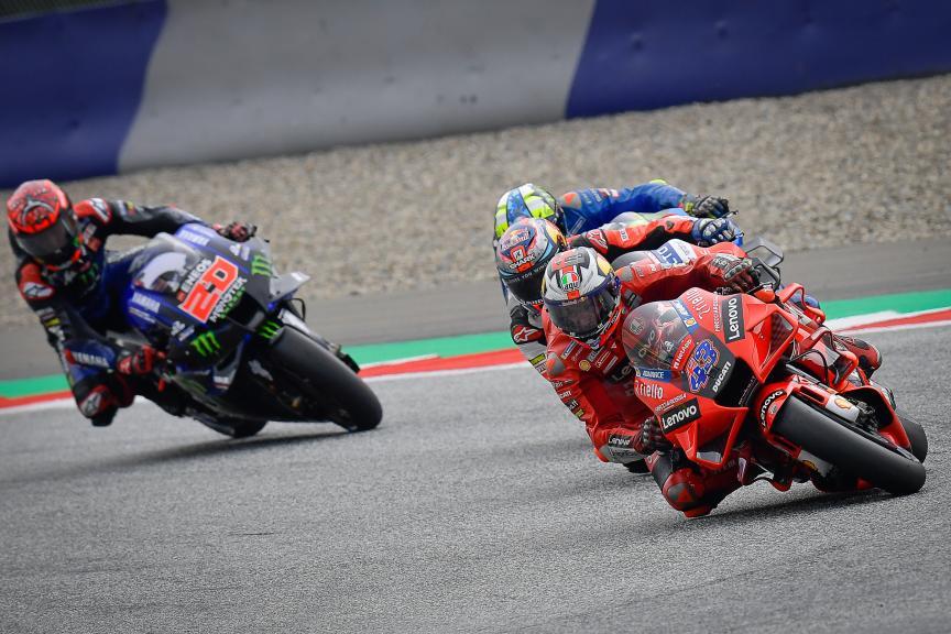 Jack Miller, Fabio Quartararo, Michelin® Grand Prix of Styria