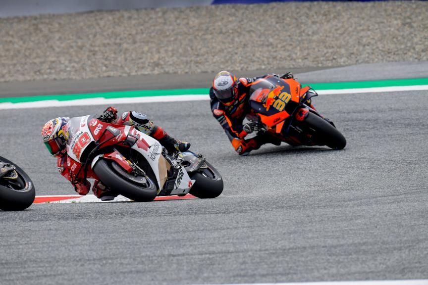 Takaaki Nakagami, Brad Binder, Michelin® Grand Prix of Styria