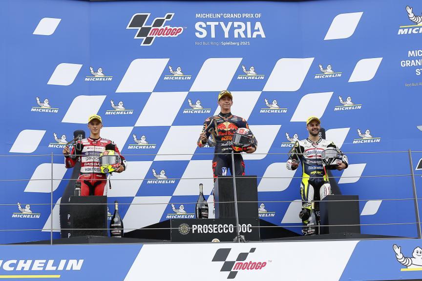 Garcia, Acosta, Fenati, Michelin® Grand Prix of Styria