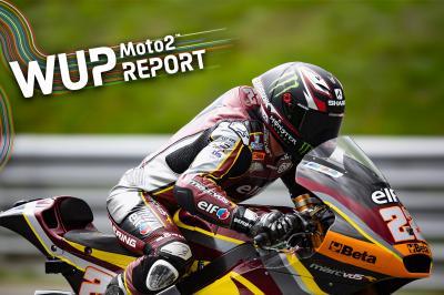 Moto2™ - Styrie : Lowes donne le ton au warm-up