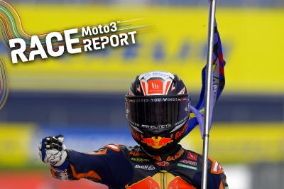 Moto3™ : Cinquième victoire de l'année pour Acosta