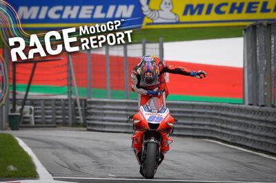 Martín empoche sa première victoire en MotoGP™ !