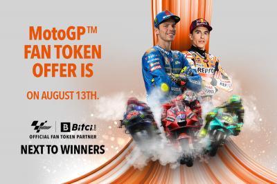 ¡La venta de MotoGP™ Fan Token se abre el viernes!