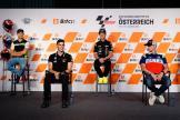 MotoE, Race Press Conference, Bitci Motorrad Grand Prix von Österreich