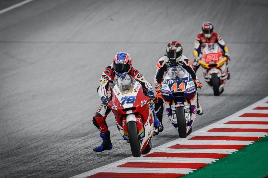 Ai Ogura, Aron Canet, Bitci Motorrad Grand Prix von Österreich