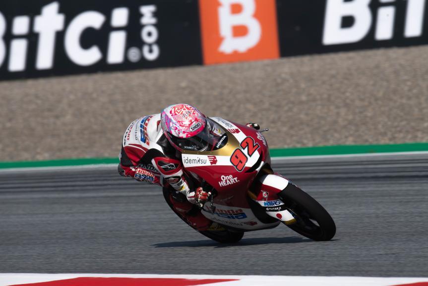 Yuki Kunii, Honda Team Asia, Bitci Motorrad Grand Prix von Österreich