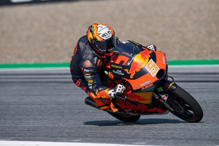 Jaume Masia, Red Bull KTM Ajo, Bitci Motorrad Grand Prix von Österreich