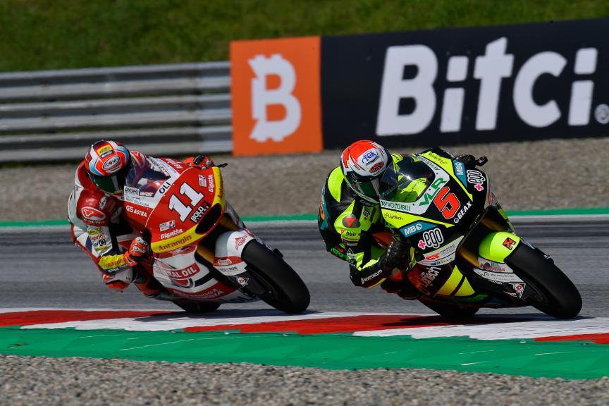 Yari Montella, Nicolo Bulega, Bitci Motorrad Grand Prix von Österreich