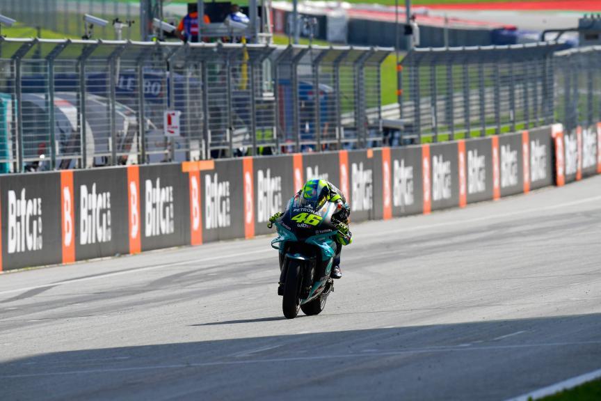 Valentino Rossi, Petronas Yamaha STR, Bitci Motorrad Grand Prix von Österreich